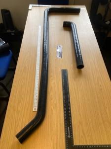 long silicone hoses